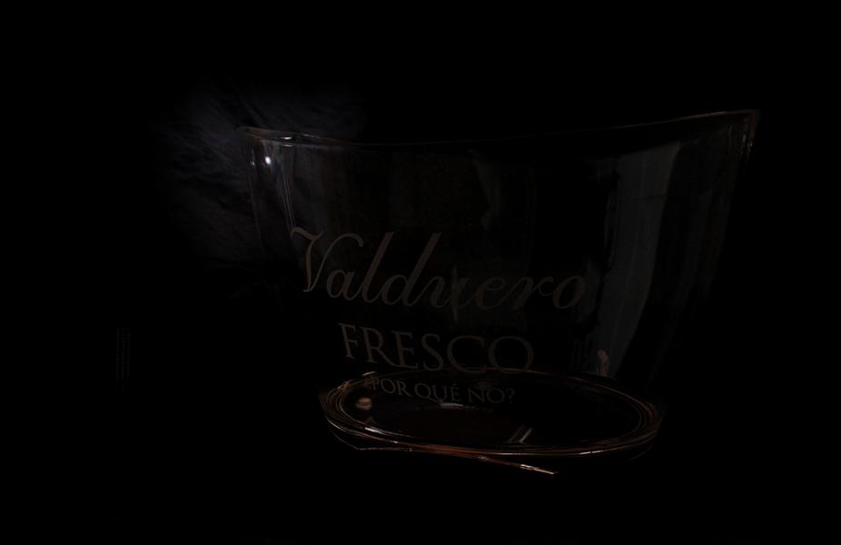 Botellero de vino de las Bodegas Valduero