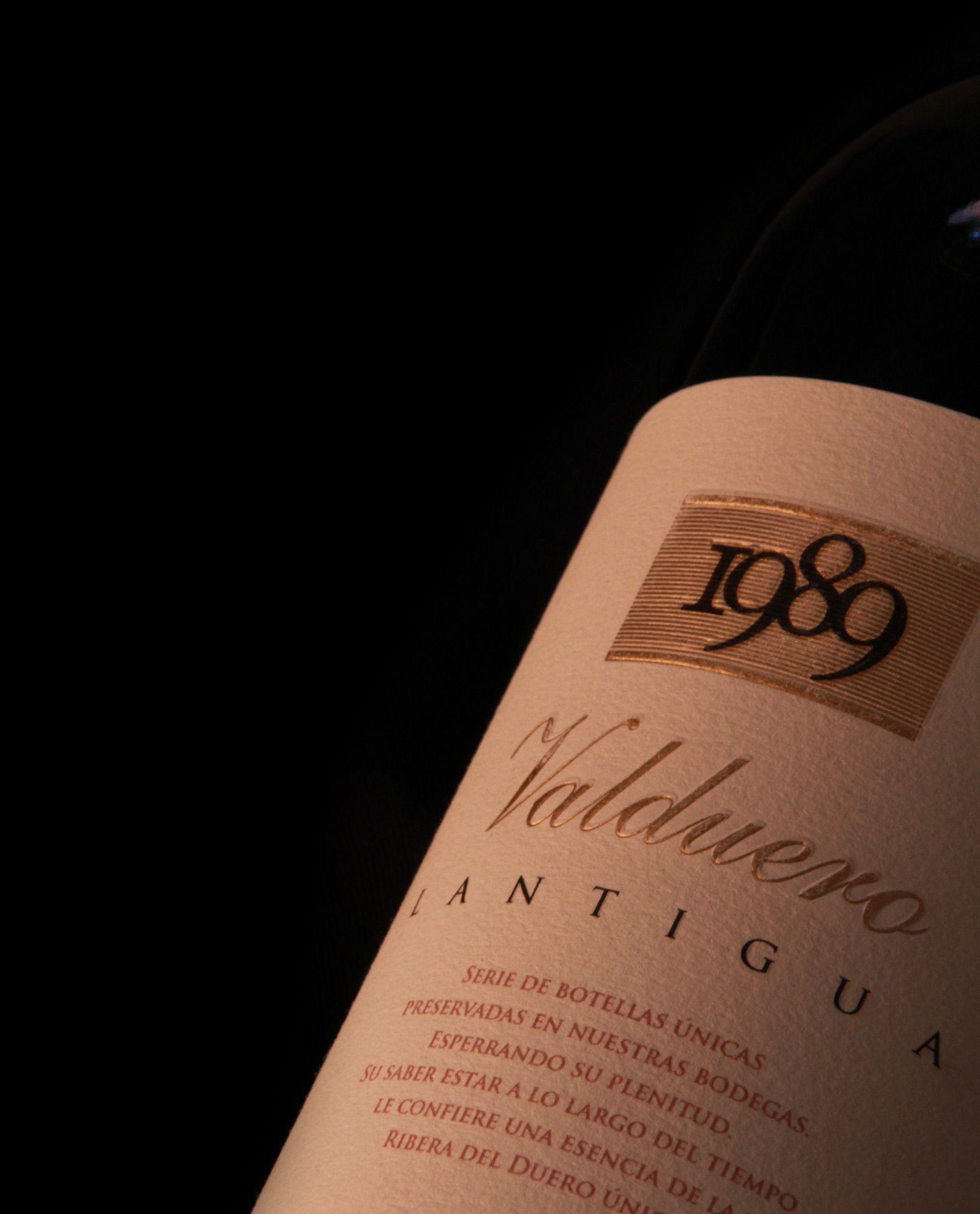 Valduero Lantigua, vino de 1989, vino de lujo, vino caro