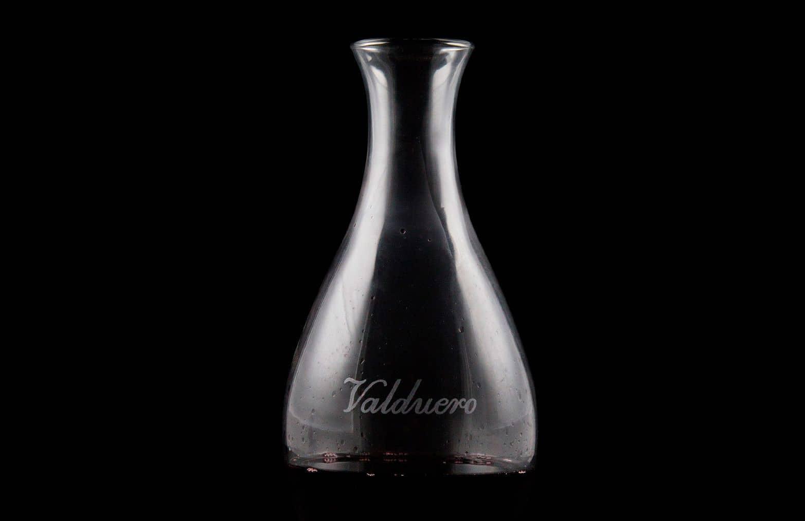 Decantador de Bodegas Valduero, accesorios de vino, Ribera del Duero