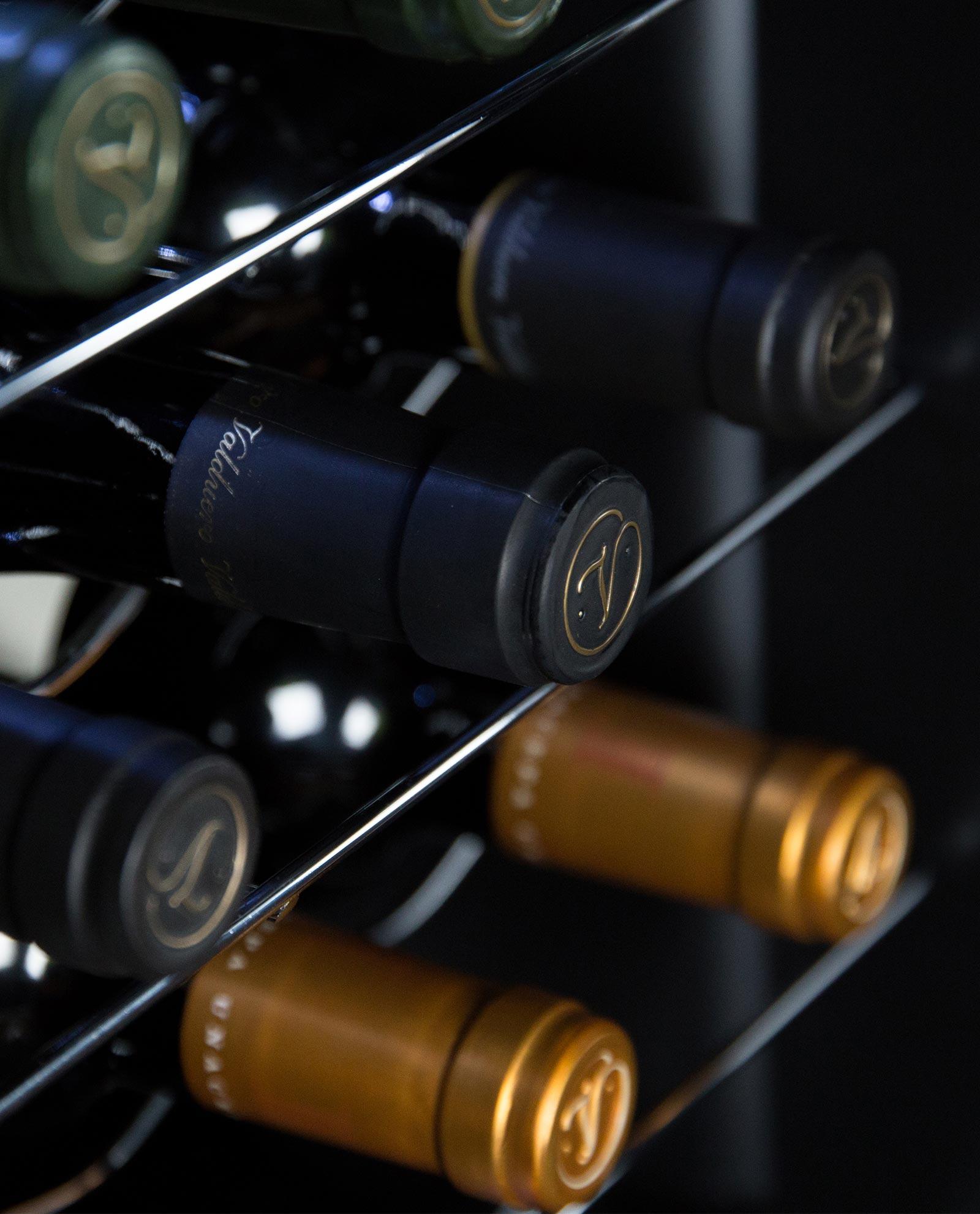 Cápsulas de los vinos de Bodegas Valduero, vinos de la Ribera del Duero