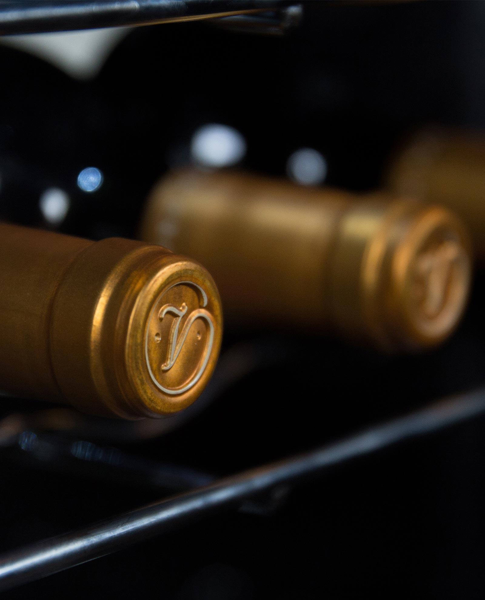 Cápsula de Valduero una cepa, vinos de la Ribera del Duero