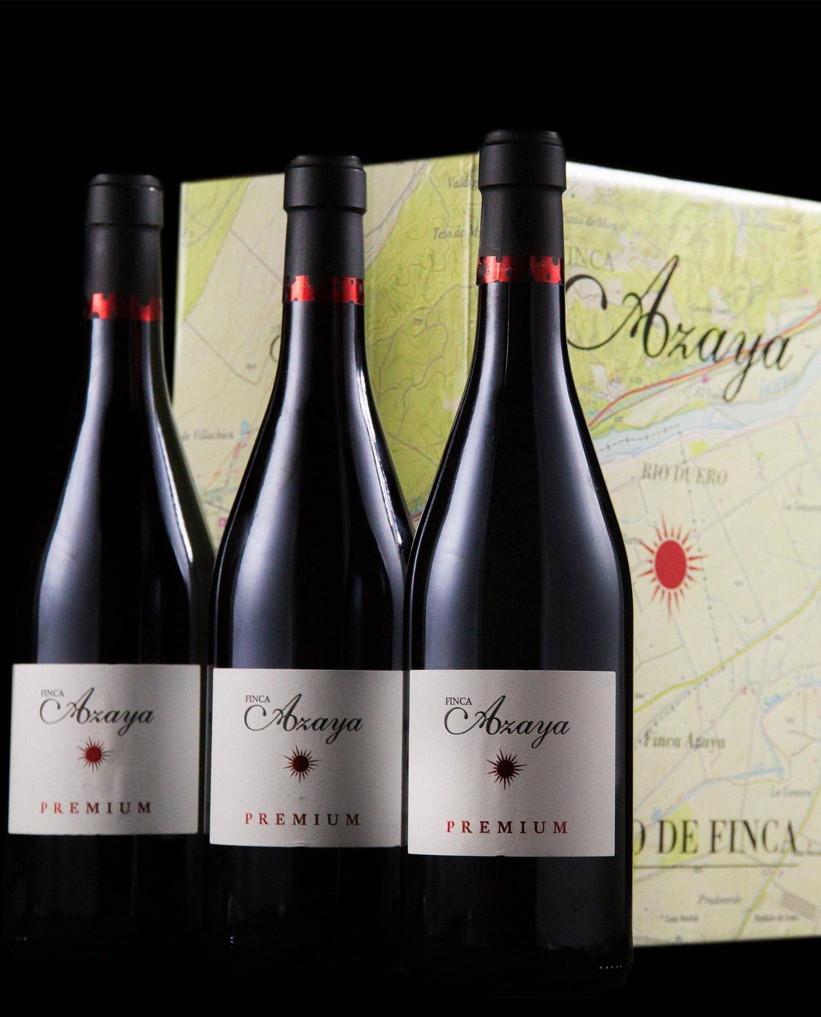 Finca Azaya, caja de tres, DO Castilla y León