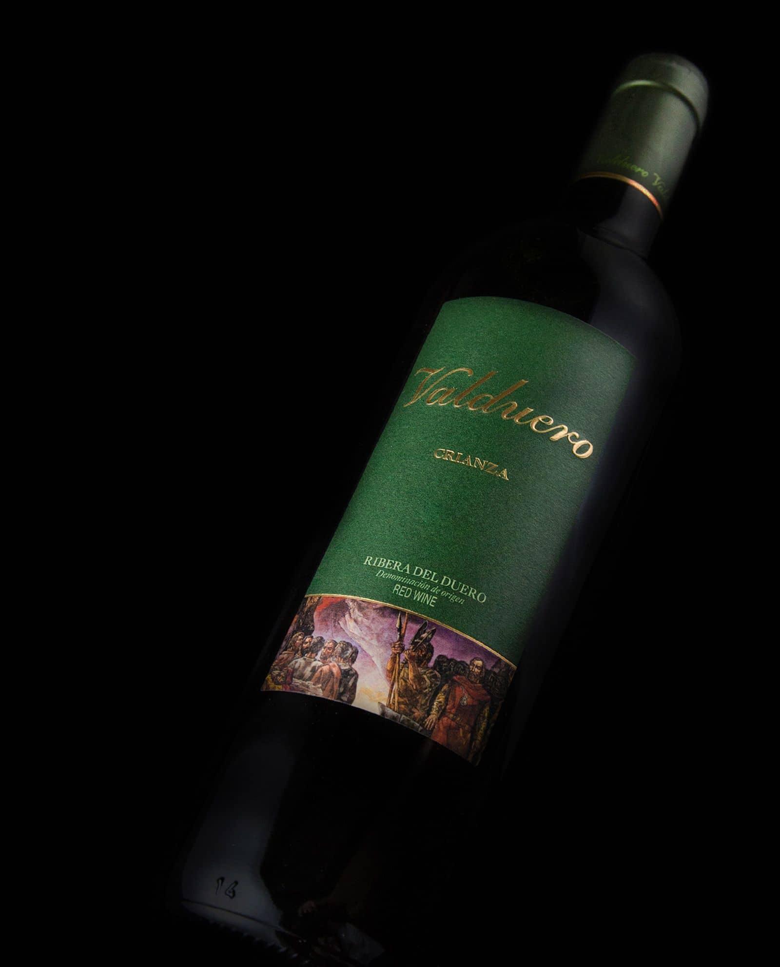 Valduero crianza, vino tinto de la Ribera del Duero