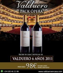 Pack Ópera de Bodegas Valduero
