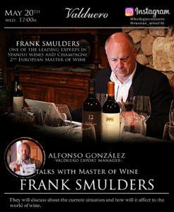 Frank Smulders, Master of wine